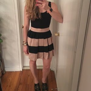 BCBGeneration Striped Skirt